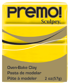 Sculpey Premo - Cadmium Yellow Hue 56g