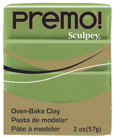Sculpey Premo Spanish Olive 56g NEW